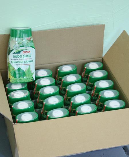 Жидкие органические удобрения 0,4 (коробка)