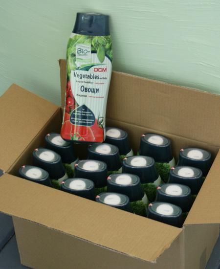 Жидкие органические удобрения 0,8 (коробка)
