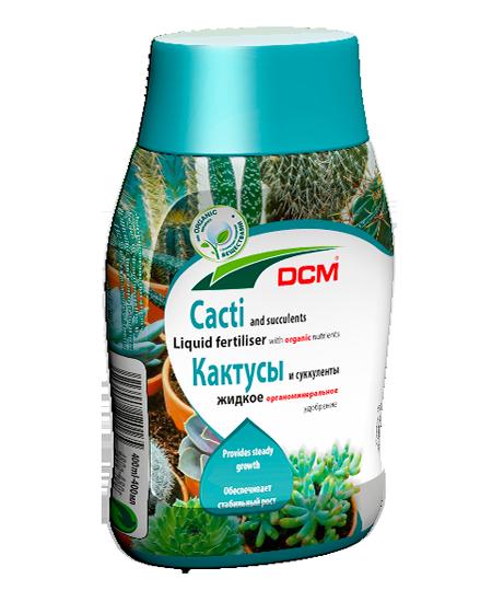 Жидкое органическое удобрение DCM для кактусов и суккулентов