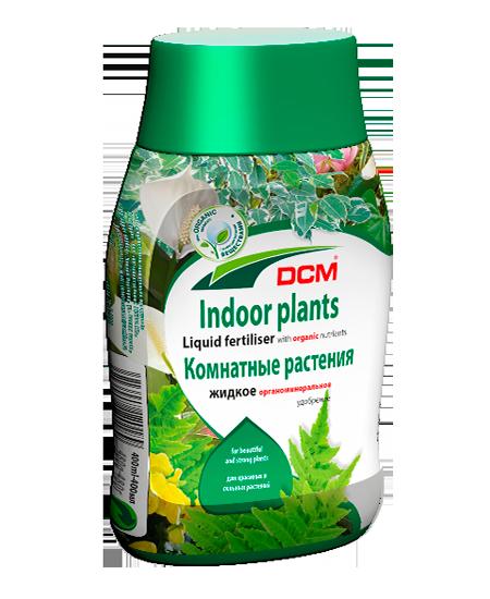 Жидкое органическое удобрение DCM для комнатных растений
